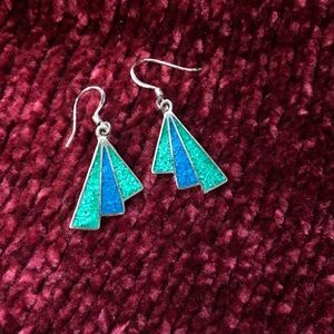 Gorgeous stone earrings